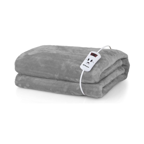 Orbegozo mah 1700 manta térmica 100x170cm 150w con 10 niveles de potencia pantalla con indicador led mando electrónico extraible