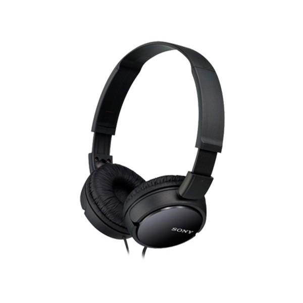 Sony mdrzx110b negro auriculares de diadema dinámico cerrado jack en 90 grados