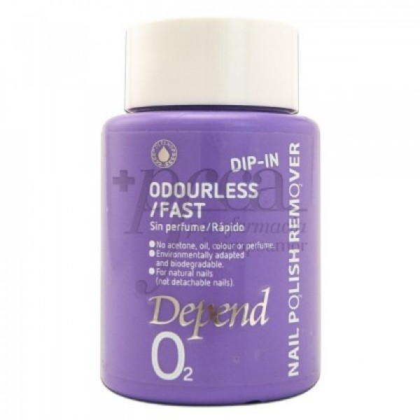 DEPEND QUITAESMALTE DIP IN SIN OLOR 75ML