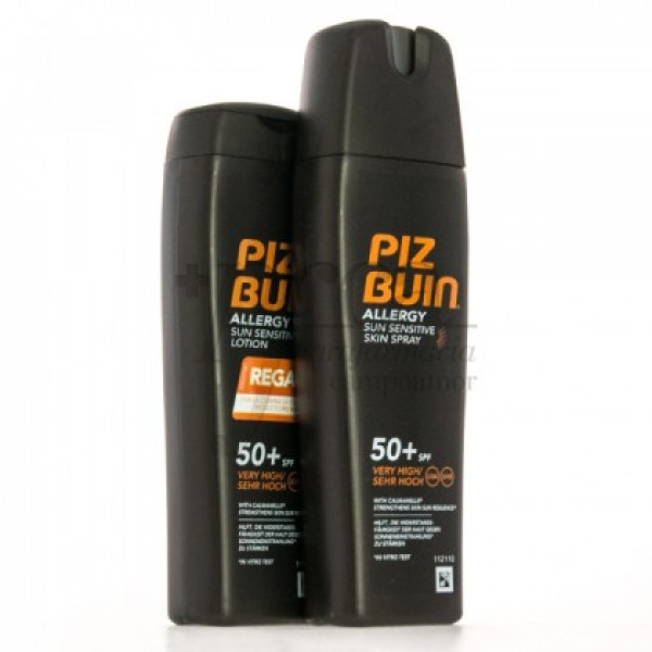 PIZ BUIN ALLERGY SPF50 SPRAY + REGALO PROMO