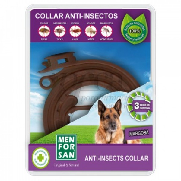 MEN FOR SAN COLLAR ANTI-INSECTO PARA PERROS 60CM