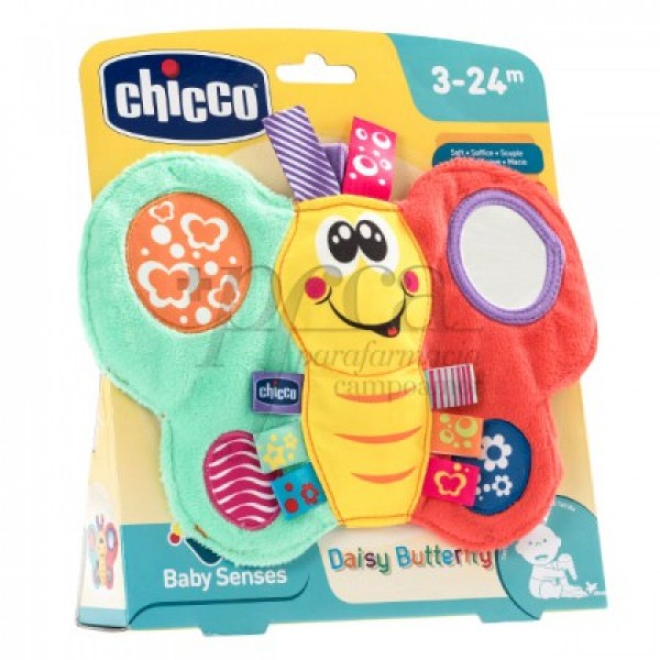 CHICCO DAISY BUTTERFLY SENSIBILIDAD TACTIL 3-24M