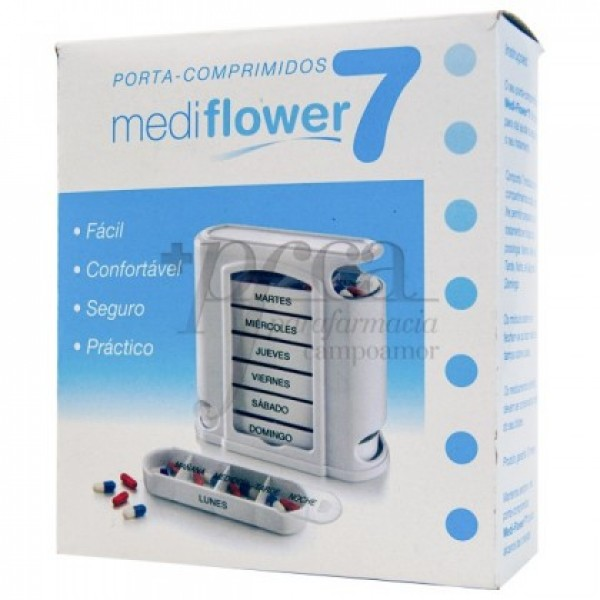 MEDI-FLOWER 7 PASTILLERO SEMANAL 00114