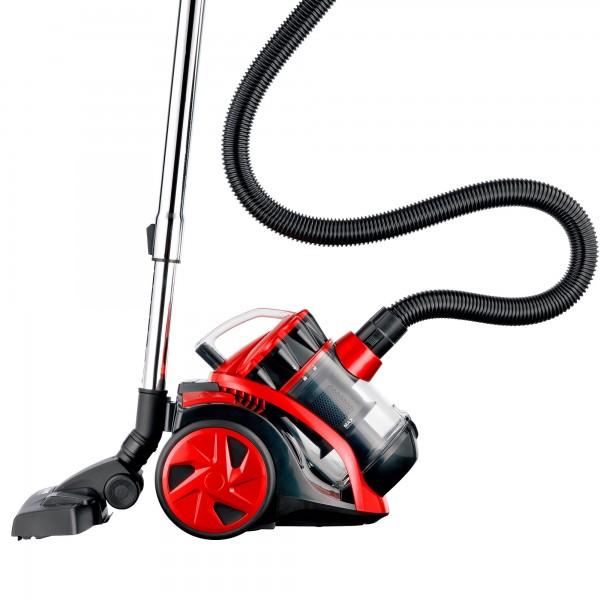 Aspirador s/bolsa kuken red 800w.(2400w)