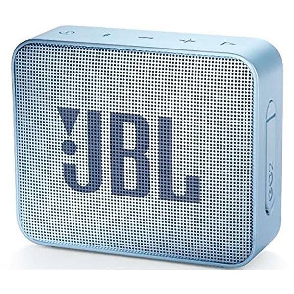 Jbl go2 cyan altavoz inalámbrico portátil 3w rms bluetooth aux micrófono manos libres impermeable ipx7