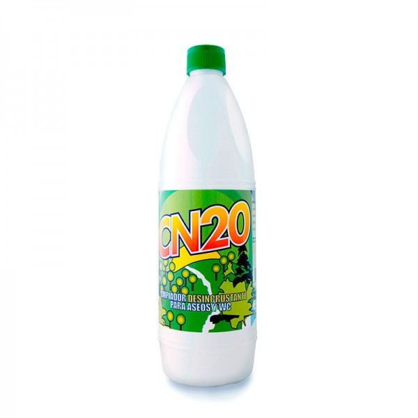 Cn20 limpiador desincrustante para aseos y wc 1l