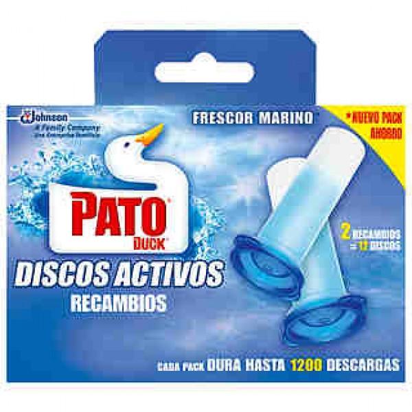 Pato discos activos 5 en 1 marine recambio caja 2u.