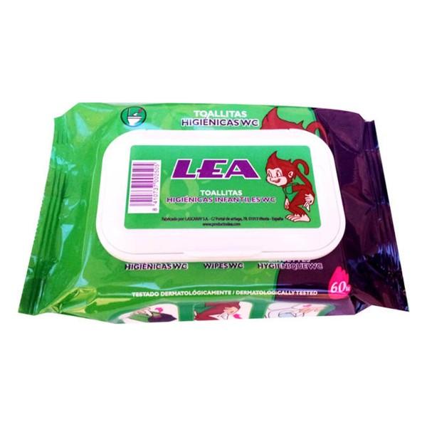 Lea toallitas higienicas infantiles wc pack 60u.