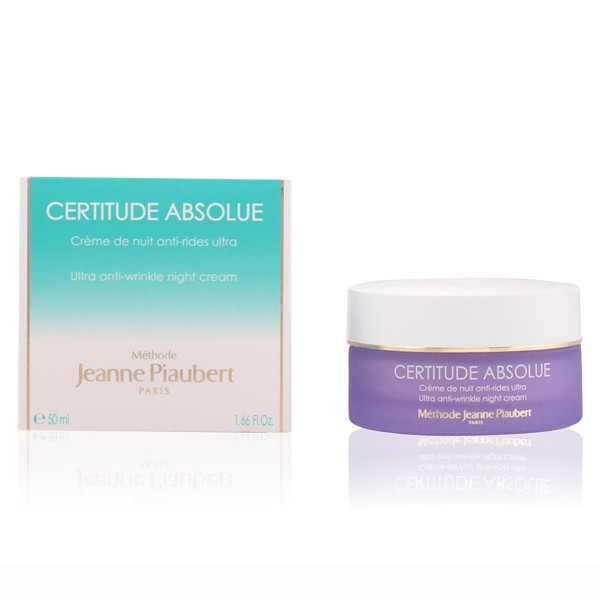 Jeanne piaubert certitude absolue ultra night cream anti-wrinkle 50ml
