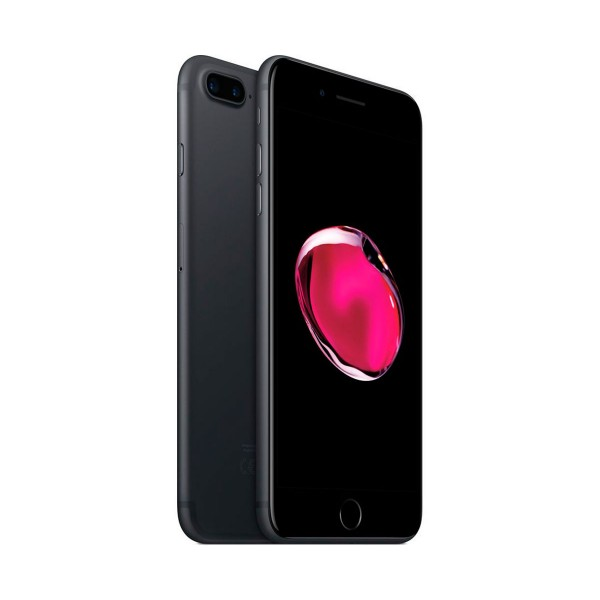 Apple iphone 7 plus 128gb negro mate reacondicionado cpo móvil 4g 5.5'' retina fhd/4core/128gb/3gb ram/12mp+12mp/7mp
