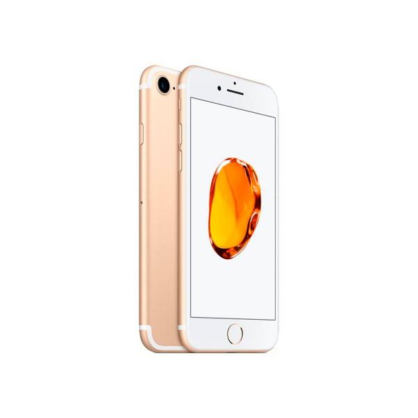 Apple iphone 7 128gb dorado reacondicionado cpo móvil 4g 4.7'' retina hd/4core/128gb/2gb ram/12mp/7mp
