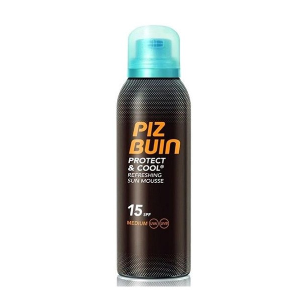 Piz buin protect cool refreshing sun mousse spf15 medium 150ml