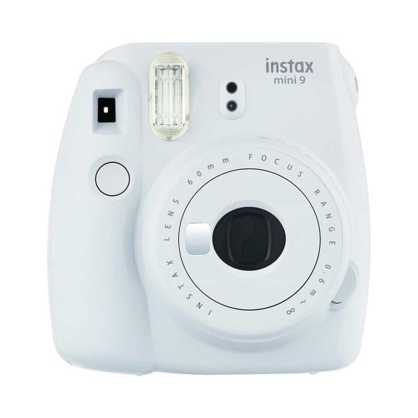 Fujifilm instax mini 9 blanco cámara instantánea con flash