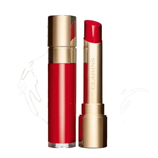 Clarins joli rouge lacquer lipstick 742l joli rouge