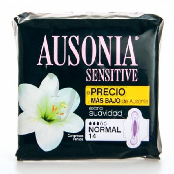 AUSONIA SENSITIVE ALAS NORMAL 14 U