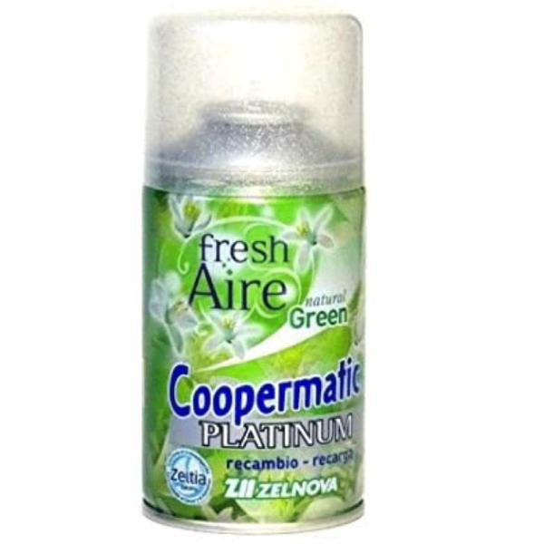 Coopermatic Platinum recambio Natural Green 250 ml