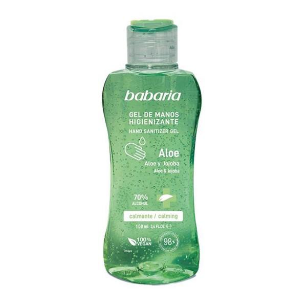 Babaria aloe gel de manos higienizante 70% alcohol 100ml