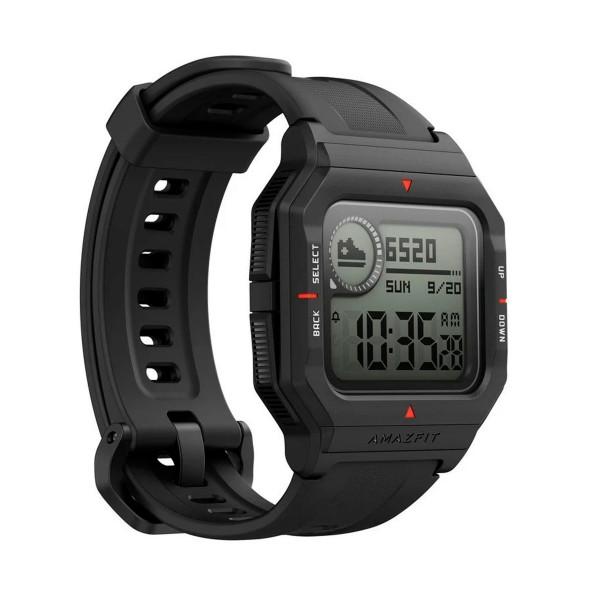 Xiaomi amazfit neo negro smartwatch 1.2'' táctil gps glonass bluetooth pulsómetro notificaciones inteligentes