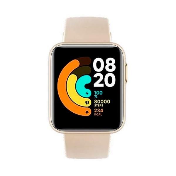 Xiaomi mi watch lite blanco 1.4'' frecuencia cardíaca sueño respiración 5atm gps