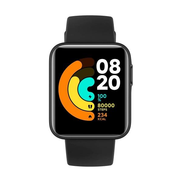 Xiaomi mi watch lite negro 1.4'' frecuencia cardíaca sueño respiración 5atm gps
