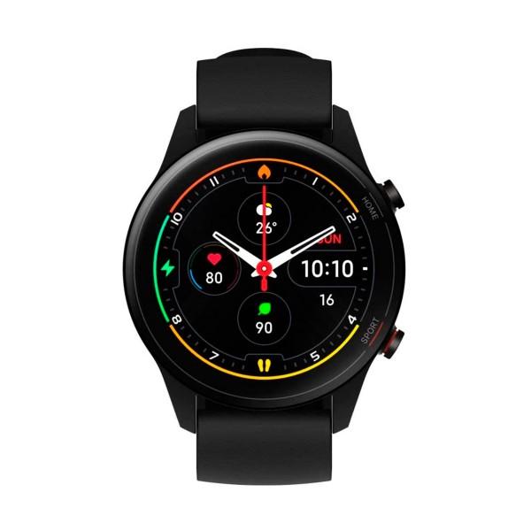 Xiaomi mi watch negro 1.39'' amoled frecuencia cardíaca acelerómetro giroscopio 5atm gps