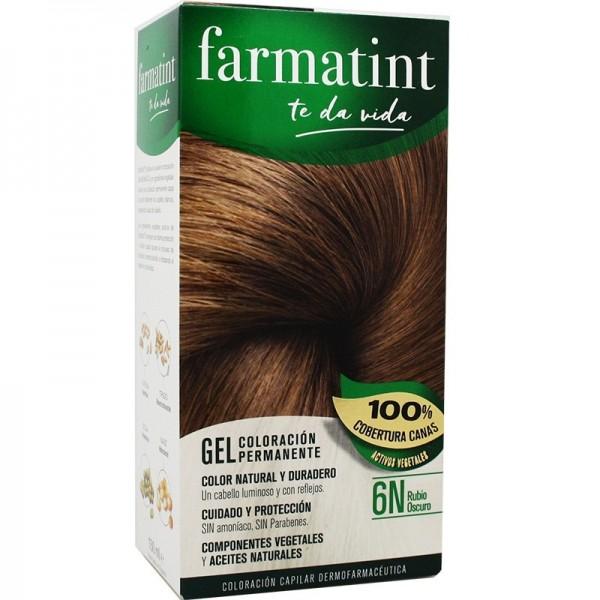 FARMATINT GEL 6N RUBIO OSCURO 150ML