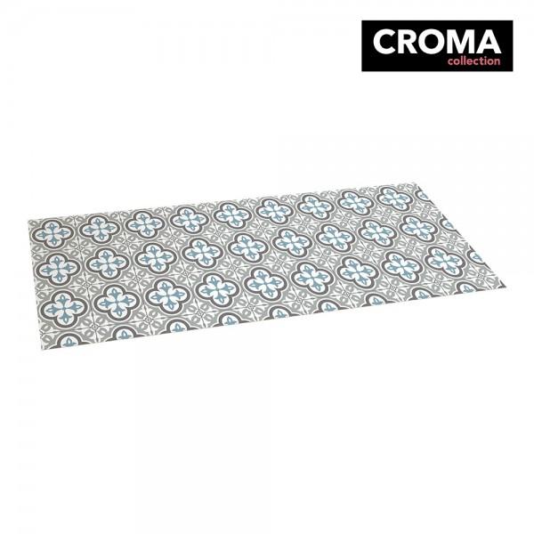 Alfombra vinilica croma hidra topo 50x140cm