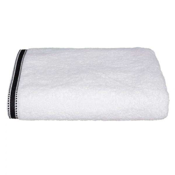 Toalla baño premium color blanco 100x150cm