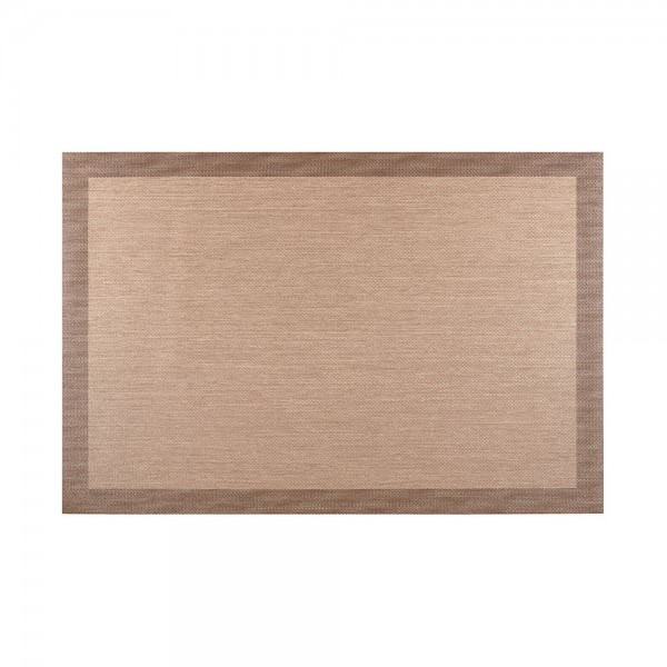 Alfombra living style beige-choco 120x180cm cintacor